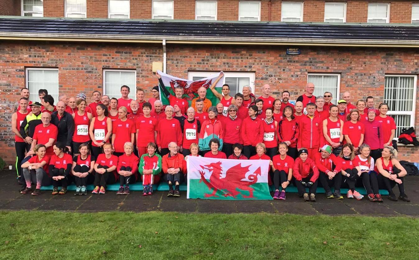 Port Talbot Harriers' Linda Woodland represents Wales